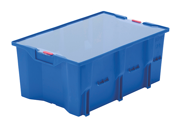 DLK AWB 1c blau mit Plombe u D